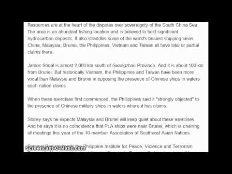 Chinese Naval Fleet Heads Deep into Disputed Waters. 3/30/2013