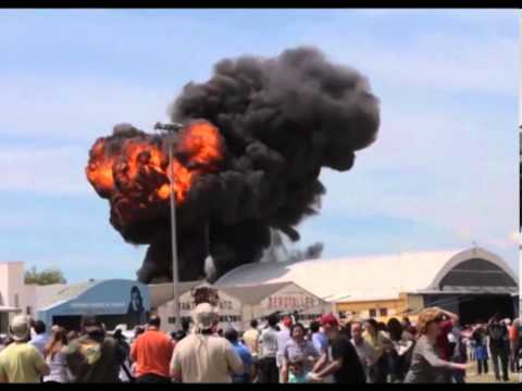 Jet Fighter Accident Madrid Air Show The accident happened shortly before 14:00 hours 05/05/2013