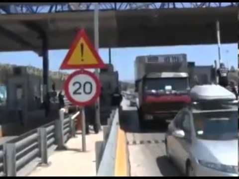Greek Far Right Golden Dawn Freeing The Greek Citizens From Toll Charges Their Way