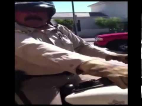 12 Year Old kid Owns Cop For Parking On Sidewalk, Asks For Badge Number