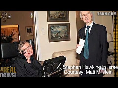 Stephen Hawking Confirms Support of Israel Boycott