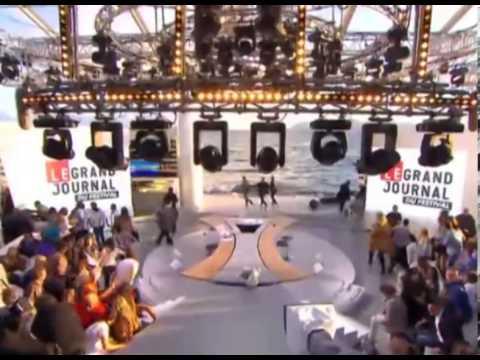 Gunshots at Cannes Film Festival ,Panic as Audience run Away on Live TV