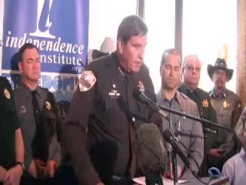 55 Colorado Sheriffs File Suit Against Feds For AntiGun Bills