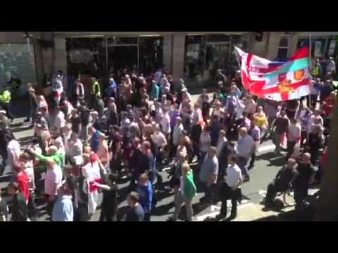 After Beheading of Soldier -OVER 7,000 take to the streets in Newcastle more