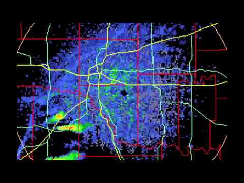 Nexrad Weather Control: Watch as this Tornado is terminated before hitting an AFB