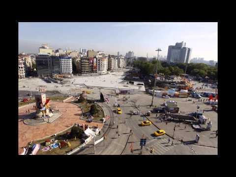Taksim Square: Time Lapse Shows 24 Hours At Heart Of Protests (VIDEO)