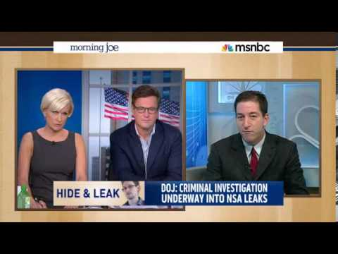 Glenn Greenwald Takes MSNBC's Mika Brzezinski, to Task for Using NSA WH Talking Points 06102013