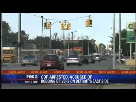 Multiple Detriot police officers suspected of armed robbery during traffic stops