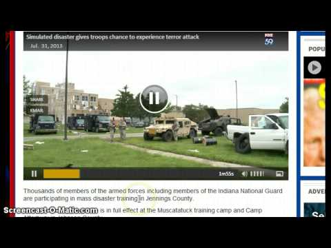 Exercise Vibrant Response: Massive 17 Day Terror Drill Simulates Nuke Attack on Columbus Oh