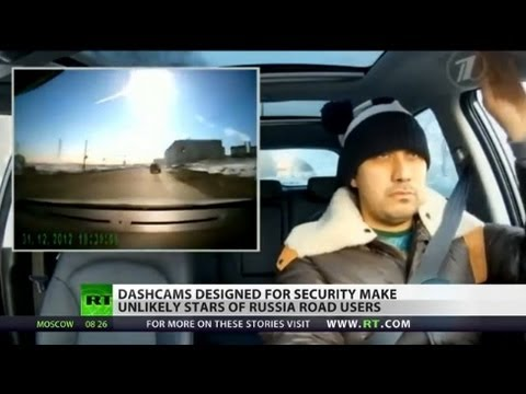 Unlikely Stars: Russian dashcam vids become internet sensations