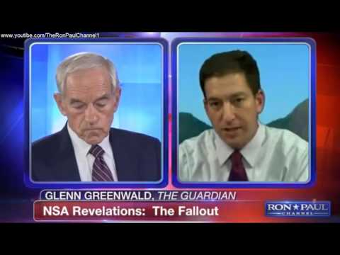 Ron Paul Channel FIRST EPISODE!! - Interviews GLENN GREENWALD - August 12, 2013