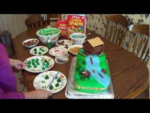 Junior Hunters Birthday Cake