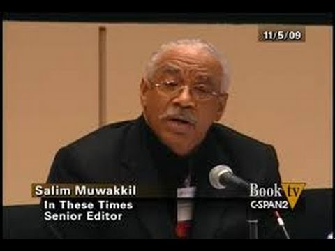 Has the whole world went crazy ? Salim Muwakkil radio host of WVON 1690AM in Chicago, 1