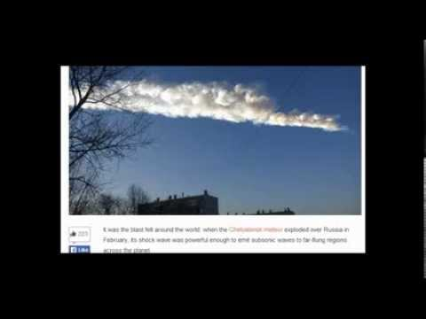 Stunning new details on the meteor that exploded over Russia. Causing sunburns! 11/9/2013.