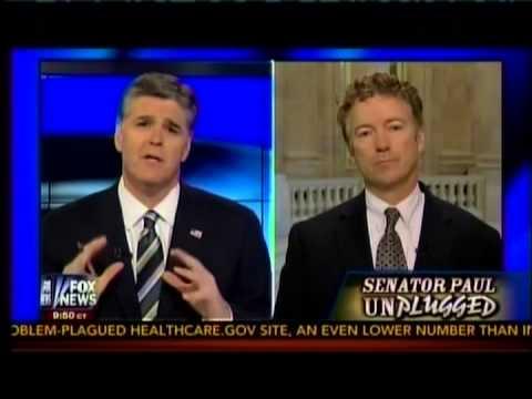 Sen. Paul Appears on Fox's Hannity- November 14, 2013