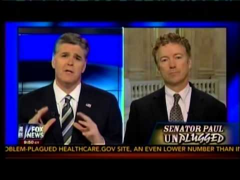 Sen. Paul Appears on Fox's Hannity- November 14, 2013