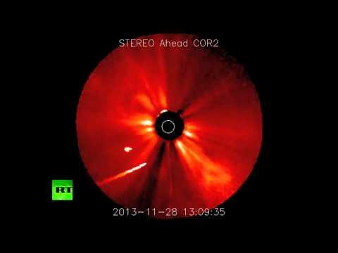 NASA video: 'Comet of the Century' ISON passes around sun