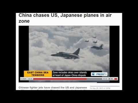 Breaking: Second Time China Sends Fighter Jets To Chase U.S. and Japanese Military Planes.