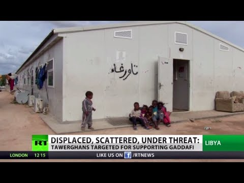 'We live little better than animals': Libyan minority displaced as country in chaos