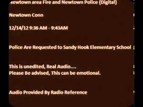 Police Dispatch Recording of Sandy Hook Elementary Shooting Proves Multiple Shooters