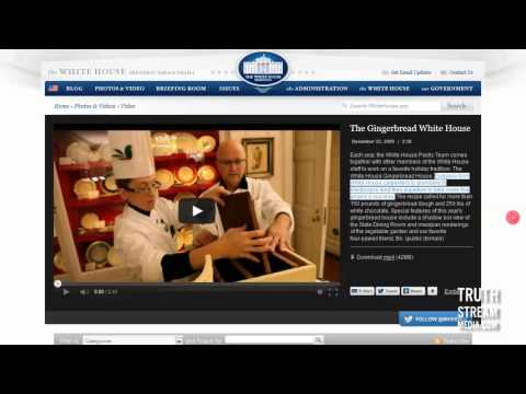 390-lb Gingerbread White House: What a Decadent Box of Fail [TruthSteam Media]