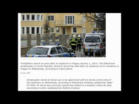 Palestine Ambassador To Prague Killed In Bomb Explosion. 1/1/2014