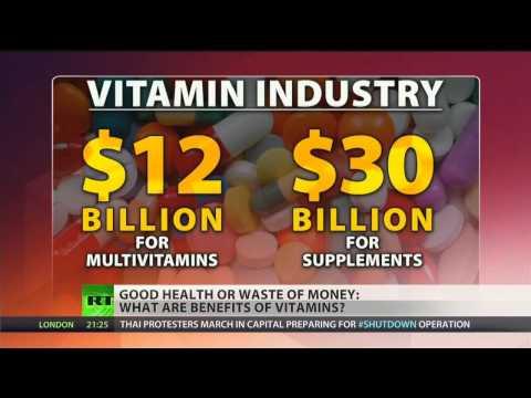 Vitamins: A Multi-Billion Dollar Scam? (The Pharma Cartel Wants You Sick & Dead)