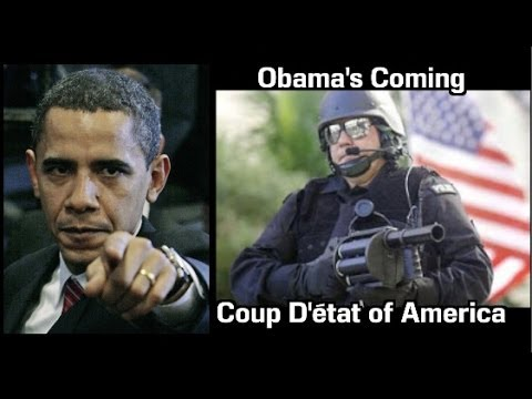 Obama's Coming Coup D'état  of America
