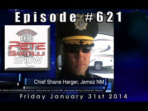 Update: TSA, FBI, DHS Retaliate Against NM Police Chief & CSPOA - Pete Santilli Show Episode #621
