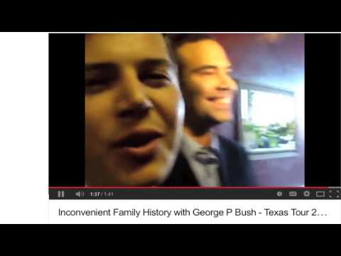 Rising 'Hispanic' Star George P. Bush Confronted on Family's Nazi Banking Past