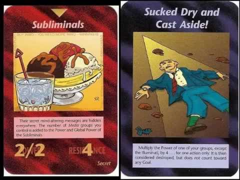 ILLUMINATI CARDS FINAL DECK!!!