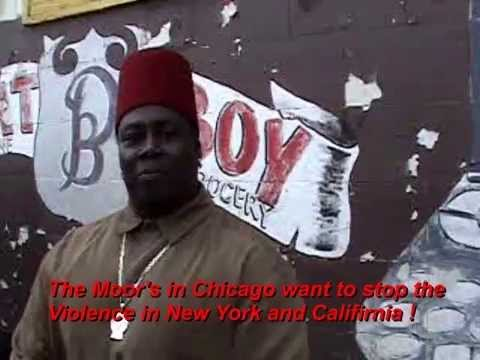 Moor's ,Black Panthers, and Muslims say stop the Violence Chicago New York and USA