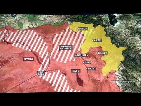 BATTLEFIELD IRAQ - ISIS Capture More Key Towns In Major Nationwide Offensive