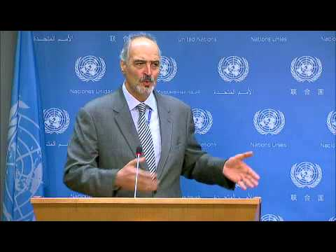 Syria's Press Conference the United Nations Doesn't Want You To See