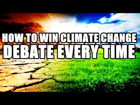 How to Win Climate Change Debate Every Time