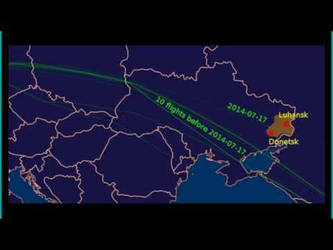 Bombshell! Proof That Malaysia Flight MH17 Was Diverted Over Ukraine War Zone!