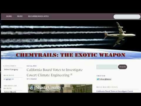 California Board Votes to Investigate Covert Climate Geoengineering