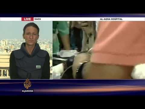Deaths as Israeli tanks shell Gaza hospital