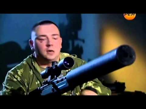 "New Russian Large-Caliber Sniper Rifle - VKS ""Vykhlop"". (English subtitles)"