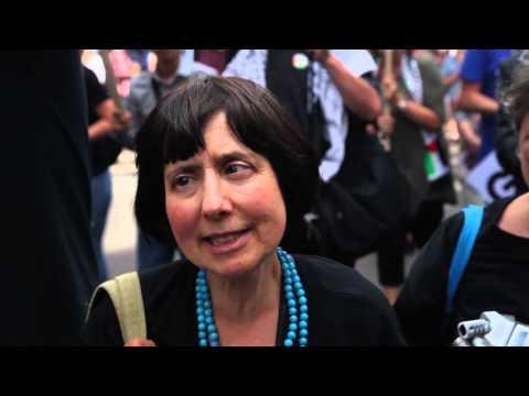 The Jewish Bloc   Palestine Demonstration   9th August 2014