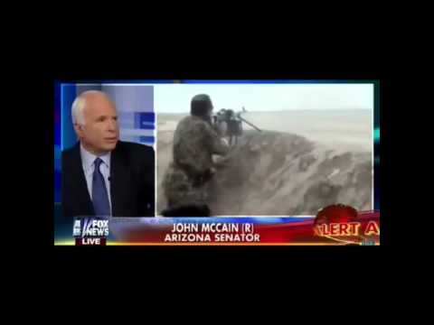 McCain accidentally reveals that USA wanted to arm ISIS