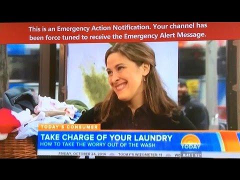"""Weird """"Emergency Alert"""" Interrupts TV Viewers Across America - Dog Training???"""