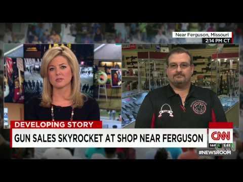 St. Louis, Ferguson Gun Sales Skyrocket