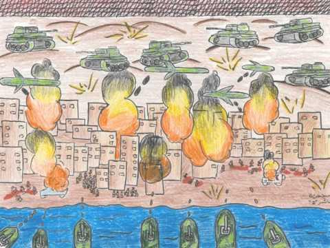 Loss of innocence: Gaza's children tell their story through art