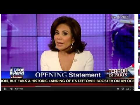 Judge Jeanine Pirro's Call for WAR! NWO PROPAGANDA (Profanity Warning!)