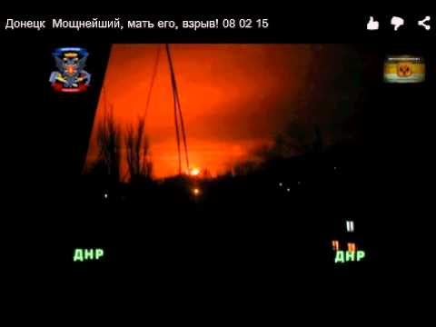 Breaking!!! Nuke Just Went Off In Donetsk, Ukraine! Feb. 08, 2015