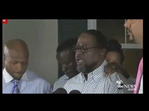Walter Scott Family Press Conference - Walter Scott Police Shooting