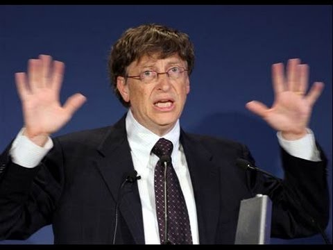 Bill Gates Surprised by Eugenics Question