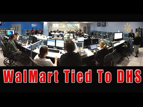 Walmart Directly Tied To DHS - Inside Info May Have Prompted Store Closures