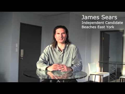 Dr. James Sears, 2015 Federal Candidate, Beaches-East York